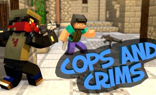 Cops & Crims - мини-игра на серверах Хайпиксель, так похожая на всеми любимый Counter Strike. Комментарии на английском!