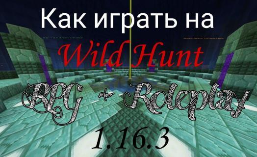 О RPG-подсервере на WildHunt