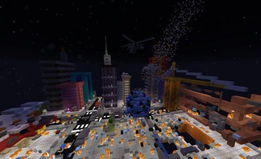 Демо-ролик новой мини-игры Метеоритный Апокалипсис