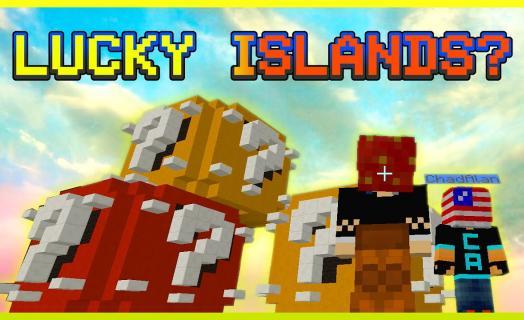 CubeCraft Lucky Islands — American Strawberry.  Зарубежный обзор сервера.