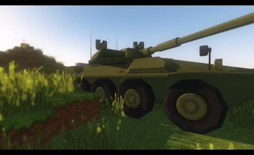 Танковый бой на сервере KraftOK – фанвидео от игрока Dimka69