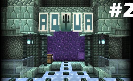 Обзор города Aqua от игрока на SparkCraft Vanilla
