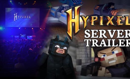 Официальный трейлер всех проектов Hypixel