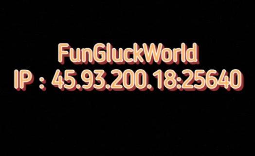 Трейлер сервера FunGluckWorld